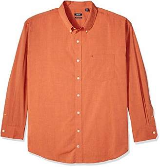 Izod Men's Premium Performance Natural Stretch Solid Long Sleeve Shirt (Big & Tall and Tall Slim)