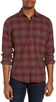 Faherty Seasons Regular Fit Check Flannel Shirt
