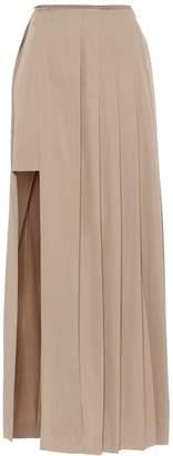 Rokh Pleated maxi skirt