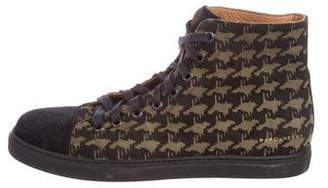 Marc Jacobs Suede High-Top Sneakers