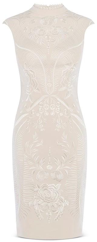 KAREN MILLEN Embroidered Sheath Dress 2