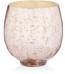 Illume Mulled Wine Small Crackle Glass Candle