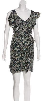Isabel Marant Linen Printed Dress w/ Tags