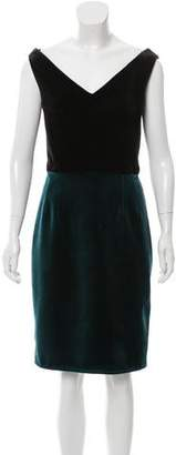 Emilio De La Morena Jayne Velvet Dress w/ Tags