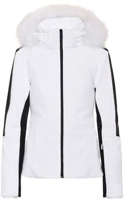 Fendi Fur-trimmed ski jacket