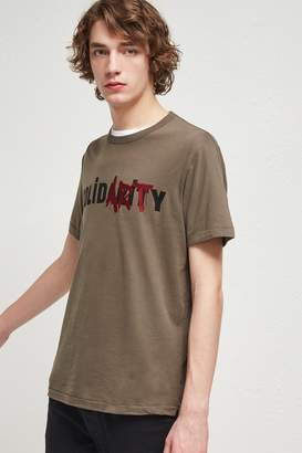 French Connenction Solidarity Crew Neck T-Shirt