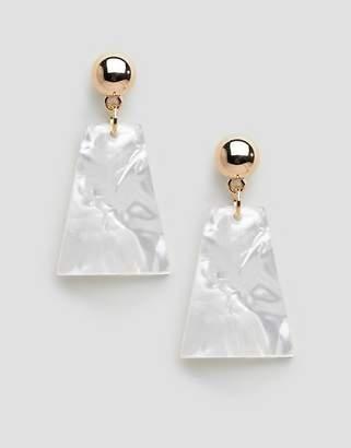 Ashiana resin chunky earrings