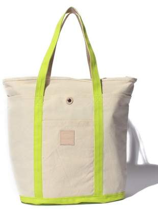 Anello (アネロ) - l'ecrin 【anello】コットンキャンバス&床革ネーム ベーシックトートバッグ