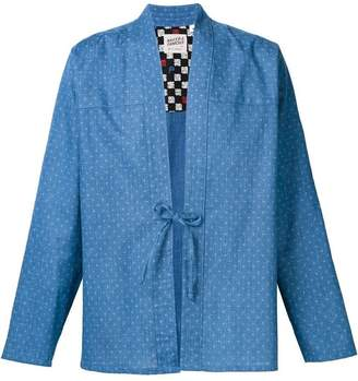 Naked & Famous Denim tie knot shirt