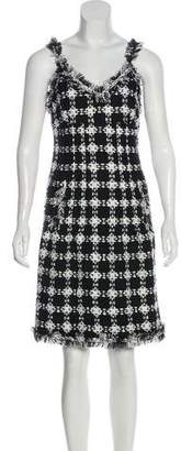 Chanel Tweed Sleeveless Dress