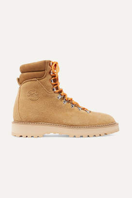 Diemme Monfumo Suede Ankle Boots - Camel