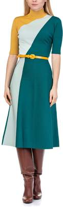 Elisabetta Franchi Celyn B. Knit Dress With Belt