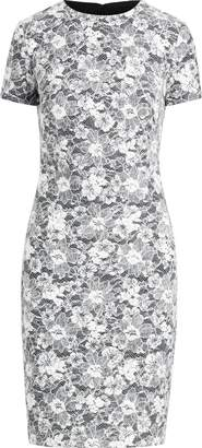 Ralph Lauren Lace Short-Sleeve Dress