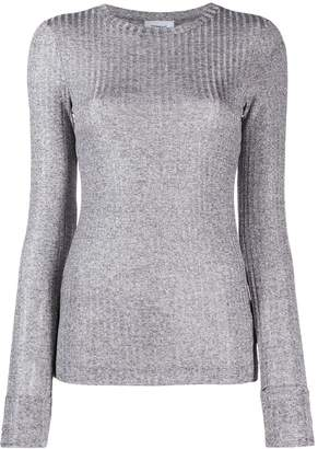 Dondup fitted ribbed top