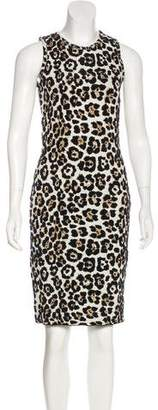 MICHAEL Michael Kors Jacquard Bodycon Dress