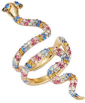 Kate Spade Kate Spade New York Beaded Snake Wrap Ring