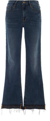 Frame Le Crop Mini Boot Stagger Jeans