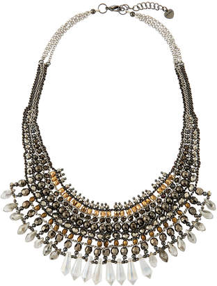 Nakamol Crystal Statement Necklace