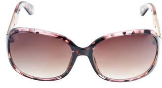 Nicole Miller Nicole By Full Frame Rectangular UV Protection Sunglasses-Womens