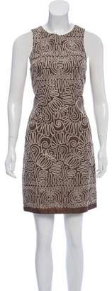 Nicole Miller Silk Patterned Dress