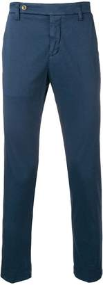 Entre Amis slim-fit tailored trousers