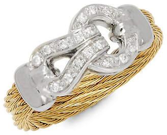Alor 18K Two-Tone Diamond Ring
