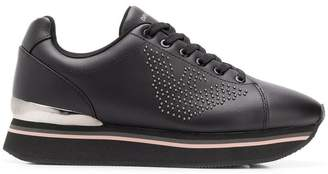 Emporio Armani lace-up sneakers