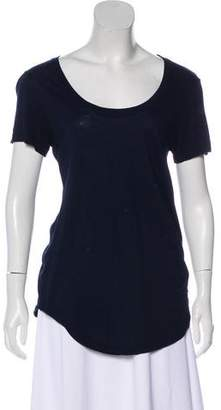 Cotton Citizen Short Sleeve Scoop Top