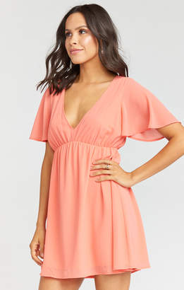 Show Me Your Mumu Doris Dress ~ Coral