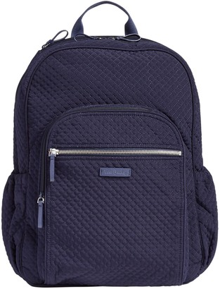 Vera Bradley Microfiber Iconic Campus Backpack
