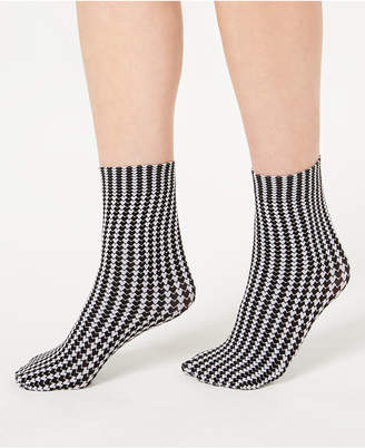 INC International Concepts I.N.C. Printed Anklet Socks, Created for Macy's