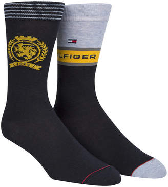 Tommy Hilfiger Tommy Men's 2-Pk. Crest Socks