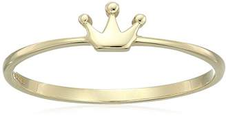 14k Crown Ring