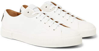 Givenchy Logo-Print Rubber and Suede-Trimmed Leather Sneakers - Men - White