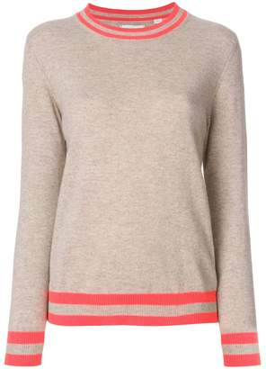 Parker Chinti & stripe trim jumper