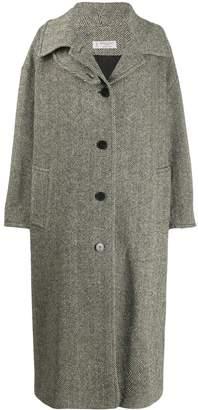 Alberto Biani oversized hooded coat