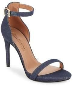 BCBGMAXAZRIA Dona Denim Sandals
