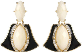 Amrita Singh Shirley Crystal & Resin Drop Earrings