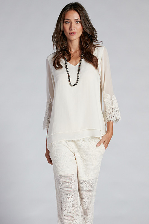Gold Hawk - Biance Double Layer Top