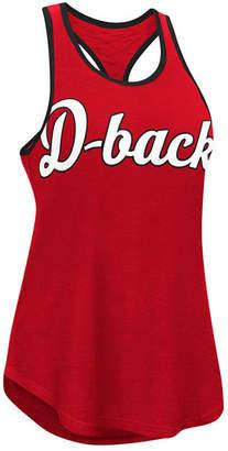 G-iii Sports Women's Arizona Diamondbacks Oversize Logo Tank