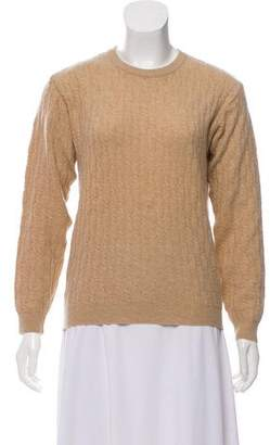 Fendi Cashmere Cable Knit Sweater