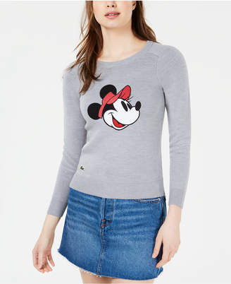 Lacoste Minnie Mouse Crewneck Sweater