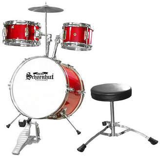 Schoenhut 5-piece Drum set with Seat