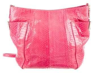 Jimmy Choo Python Chain-Link Shoulder Bag