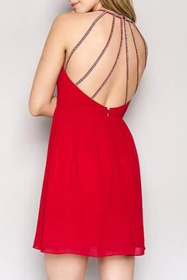 Minuet Open Back Dress
