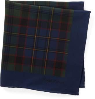 Ralph Lauren Paisley Silk Pocket Square