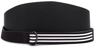 Yohji Yamamoto Pre-Owned x Adidas 2000's wide layered belt