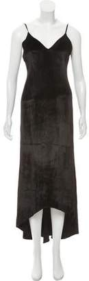 Alice + Olivia Velvet Evening Dress