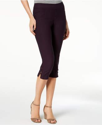 Lee Platinum Elena Embellished Capri Pants