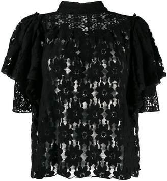 Etoile Isabel Marant Victorian lace blouse